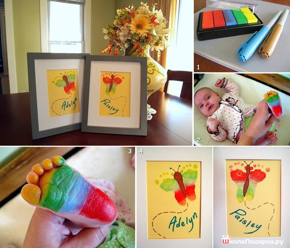 Подарок бабушке своими руками для детей