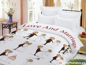 постельное белье на свадьбу