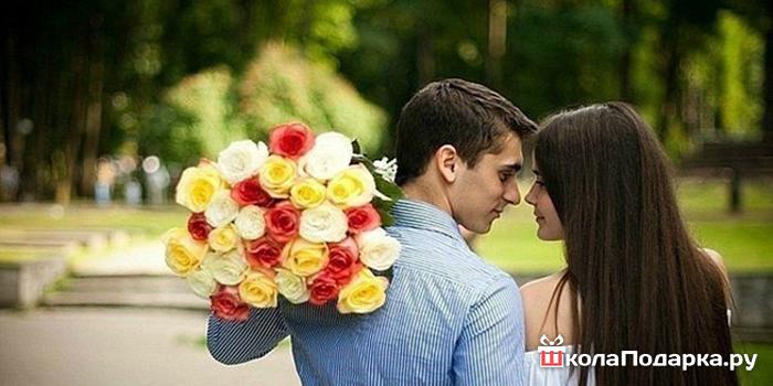 Розы девушке картинки