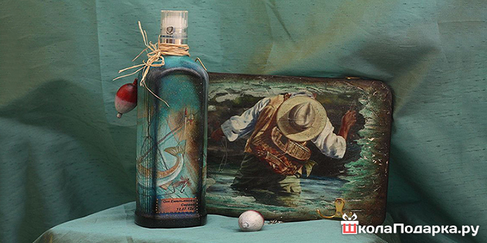 Подарок на день рождения своими руками рыбаку