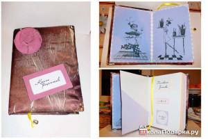 подарок сестре своими руками-книга рецептов