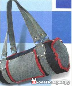 Оригинальный подарок мужу-спортсмену-сумка