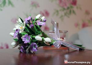 подарки гостям на свадьбе-весна-подснежники2