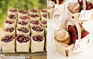 подарки гостям на свадьбе-лето-ягоды