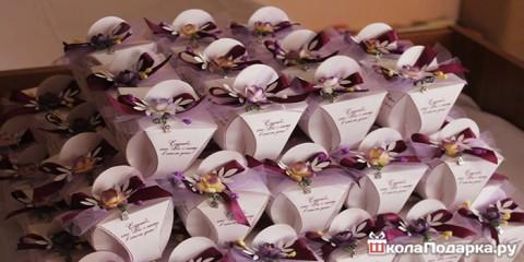 Как отблагодарить гостей на свадьбе?