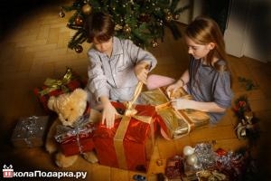 подарки на новый год-детям