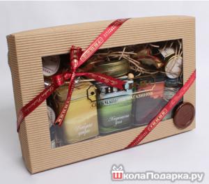 подарок мужчине на 65 летие-набор чая