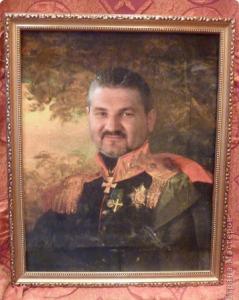 подарок папе на день рождения - портрет