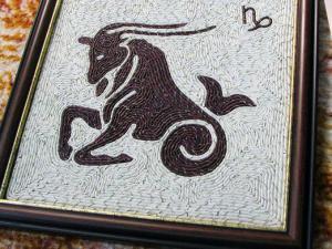 Картина козерогу