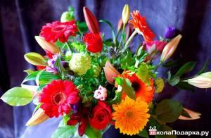 Цветы мужчине в подарок доставка цветов за смс