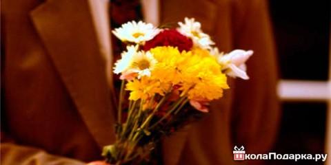 Как правильно выбрать цветы мужчине?