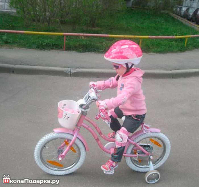 войдите хорший велосипед на 3 года также принято дарить