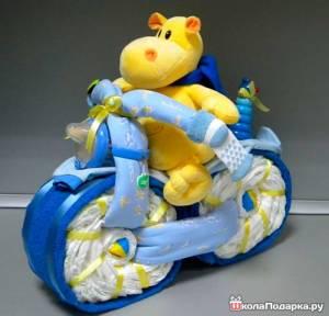 мотоцикл-из-памперсов