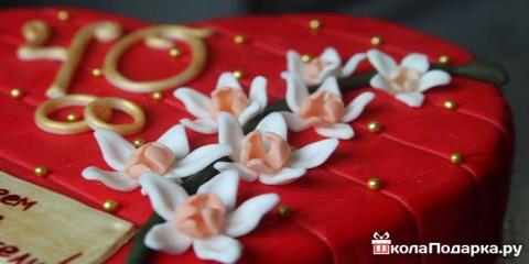 Варианты подарков на рубиновую свадьбу