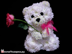 медвежонок-из-цветов