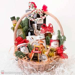 Подарки из продуктов на новый год 2014