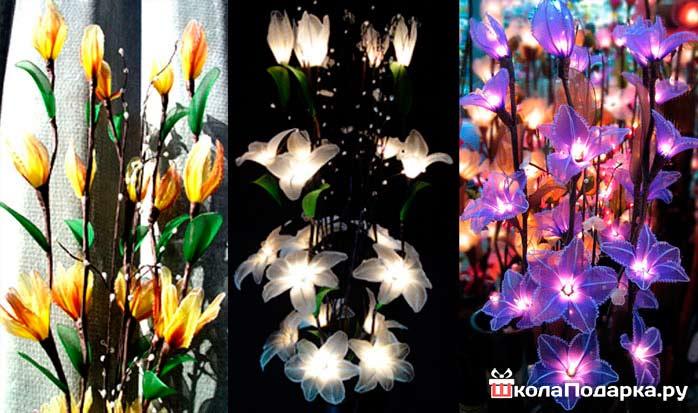 Цветы светильники купить в спб