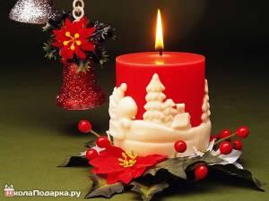 свечка-новый-год