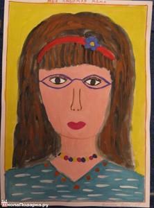 портрет-маме