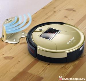 робот - пылесос в подарок