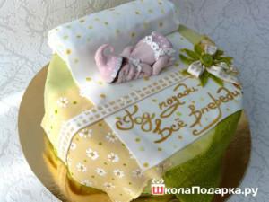 Что-подарить-на-годовщину-свадьбы-торт