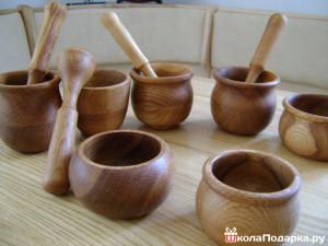 деревянная утварь