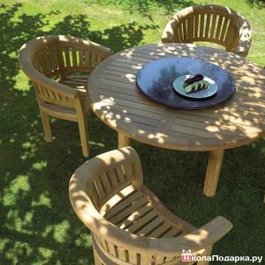 садовая мебель в подарок