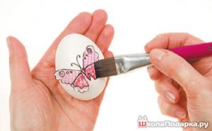 наклейки на яйца в пасху