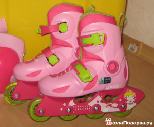 ролики для 6 летней девочки