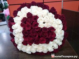 101 роза для девушки на 20 лет
