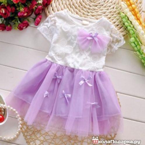 Девочке на 1 год платье
