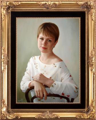 Портрет женщине на 30 лет