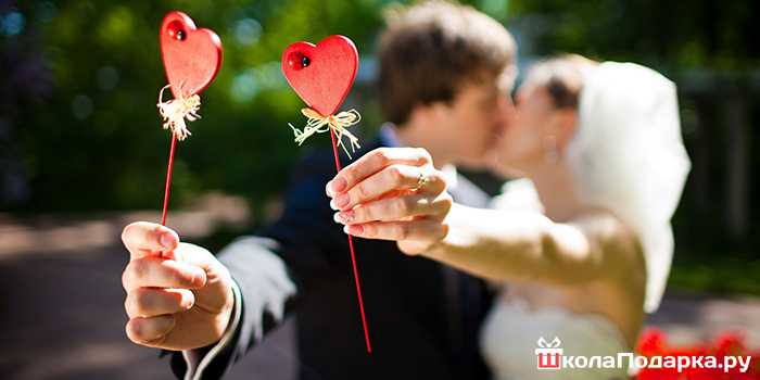 креативные подарок на свадьбу
