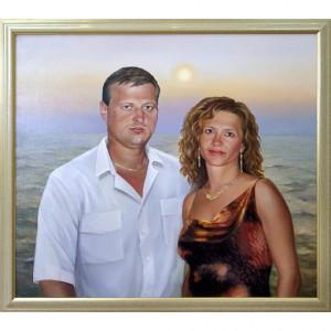 картина влюблённый пары