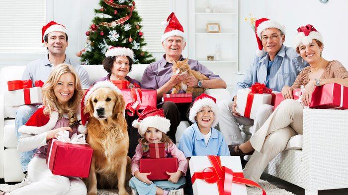 подарки родственникам на Новый год 2020