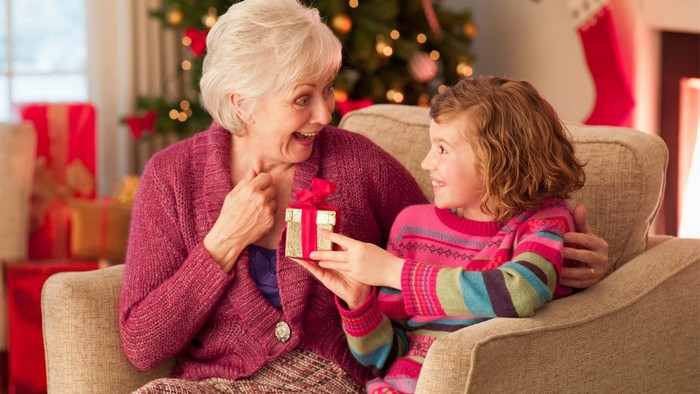 подарок бабушке на Новый год 2020