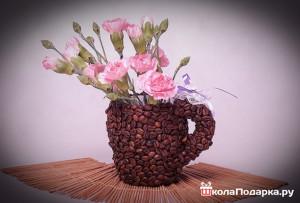 Подарок бабушке своими руками-кофейная кружка