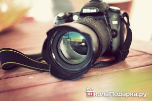 подарок мальчику на 12 лет-фотоаппарат